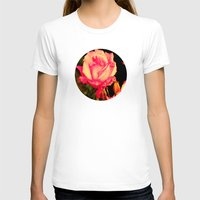 rare T-shirts featuring Rare Rose  by Ambers Vintage Find