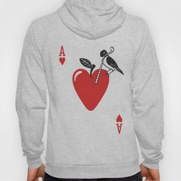 Clipped Wings Deck: The Ace of Hearts Hoody