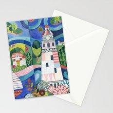 Island Lighthouse Stationery Cards
