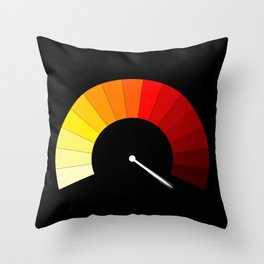 Blank In The Red Throw Pillow