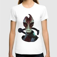 mass effect T-shirts featuring Mass Effect: Mordin Solus by Ruthie Hammerschlag