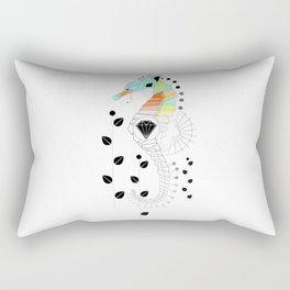Geoseahorse Rectangular Pillow