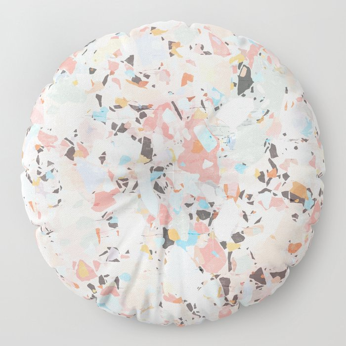 Abstract Chaos I. Floor Pillow