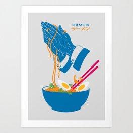 Delicious Daily Ramen Art Print