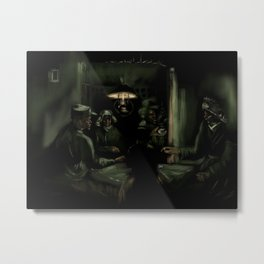 43- Potato eaters- Van Gogh Metal Print
