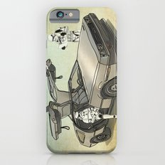 Lost, searching for the DeathStarr _ 2 Stormtrooopers in a DeLorean  iPhone 6s Slim Case