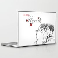 sterek Laptop & iPad Skins featuring Eternal Sterek by MGNemesi