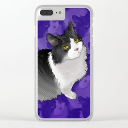 Spider Man the Cat Clear iPhone Case