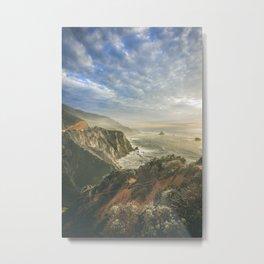 Big Sur Daydream Metal Print