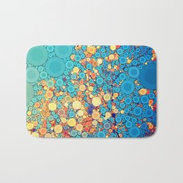 Sky and Leaves Bath Mat
