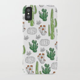 Cacti or Cactuses? iPhone Case