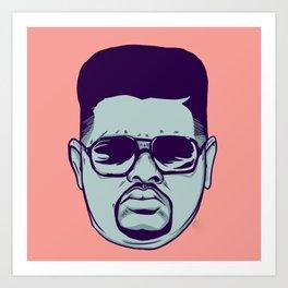 Heavy D & the Boyz - BLM - Hip Hop - Society6 - Dwight Arrington Myers - 21 Art Print