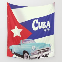 Cuba by Air Wall Tapestry