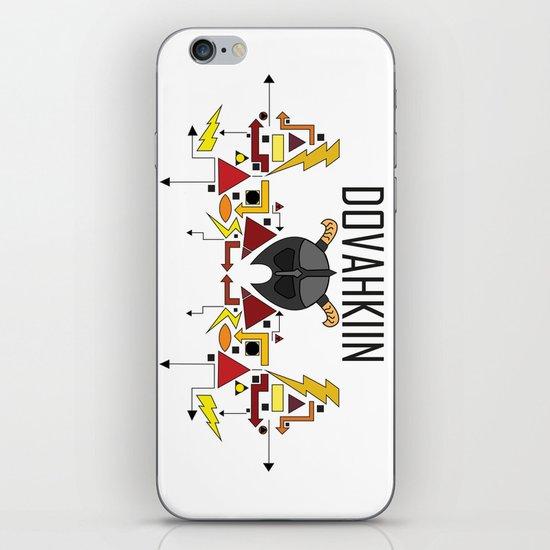Skyrim: The Dovahkiin - RED (Skyrim) iPhone & iPod Skin