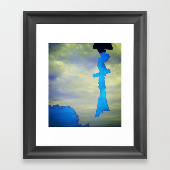 Signs in the Sky Collection - Hope Framed Art Print