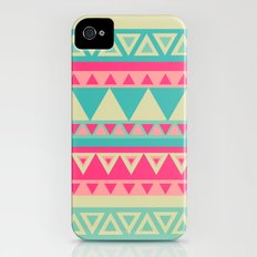 Tropical Tribal Slim Case iPhone (4, 4s)