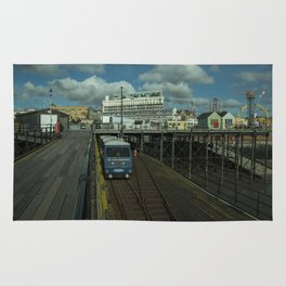 Southend Pier and funfair Rug