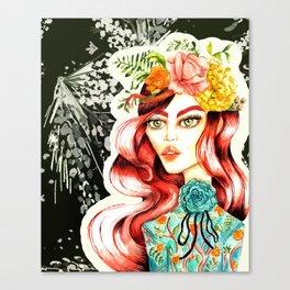 Belle Canvas Print