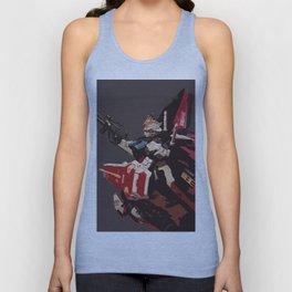 Gundam Aile Strike Digital Painting Unisex Tank Top