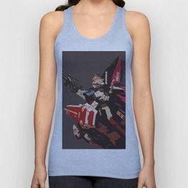 Gundam Aile Strike Digital Painting Unisex Tank Top