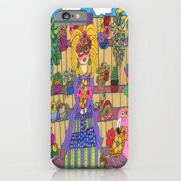 Maisie's Secret Garden iPhone Case