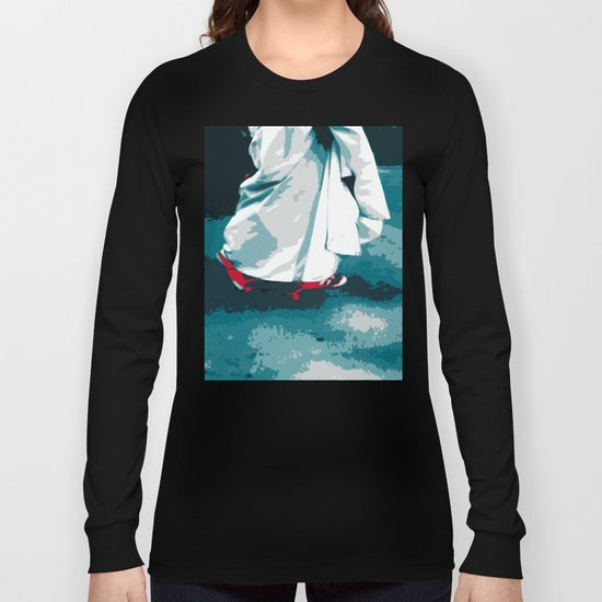 NY#12 Bride in Central Park (Lost Time) Long Sleeve T-shirt