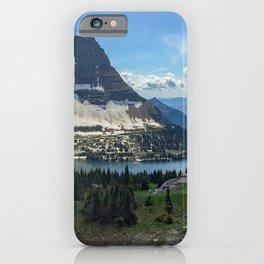 Hidden Lake at Logan Pass iPhone Case
