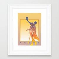 hamlet Framed Art Prints featuring Hamlet by David Chestnutt