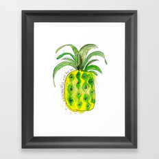 Pineapple (NOT under the sea) Framed Art Print