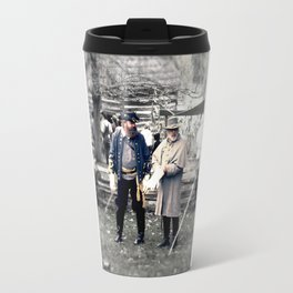 Civil War Reenactment Travel Mug