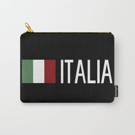 Italy: Italia & Italian Flag Carry-All Pouch