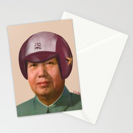 Helmet Mao Stationery Cards