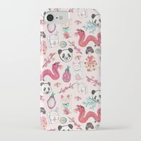 asia iPhone & iPod Cases featuring Asia by Abby Galloway
