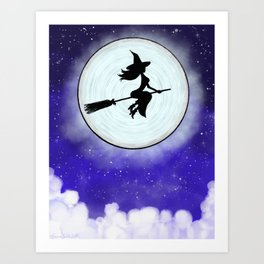 Midnight Flight Art Print