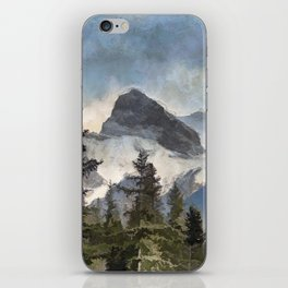 The Three Sisters - Canadian Rocky Mountains iPhone Skin