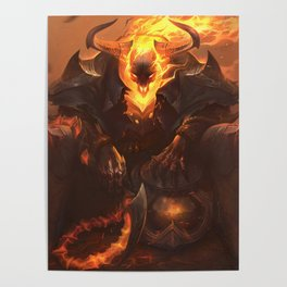 High Noon Thresh League of Legends Poster