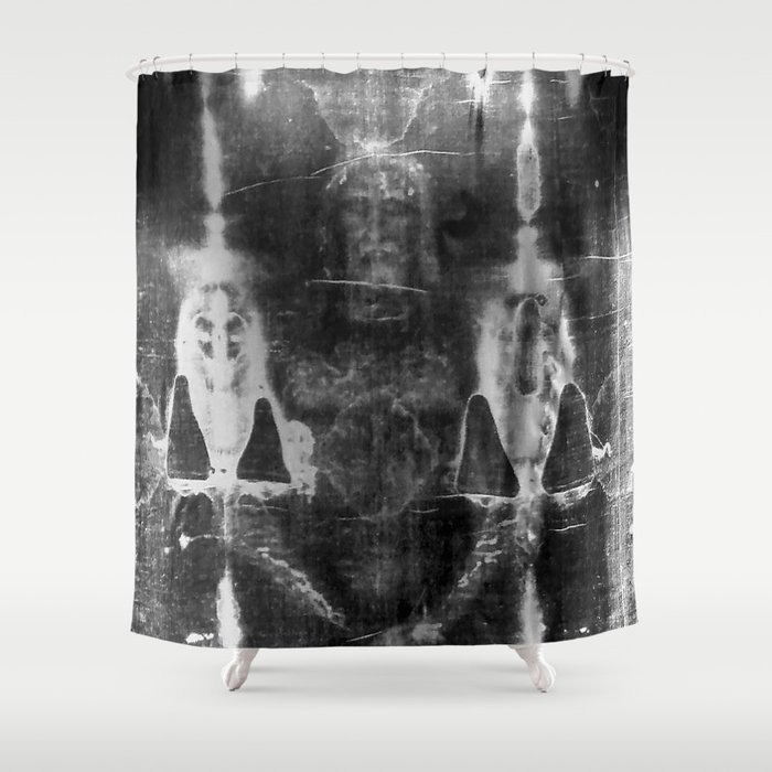 Shroud Of Turin Shower Curtain