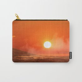 Sunset over Mauna Ulu Carry-All Pouch