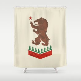 California Sigil Shower Curtain