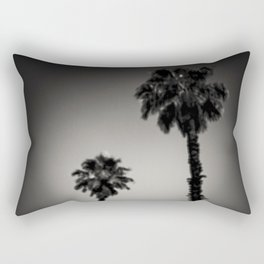 Why are palm trees so damn happy? Rectangular Pillow
