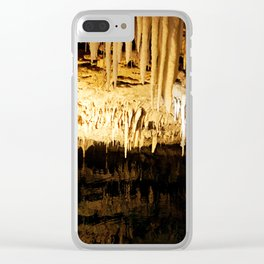 Cave Dwelling Clear iPhone Case