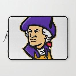 George Washington Mascot Laptop Sleeve