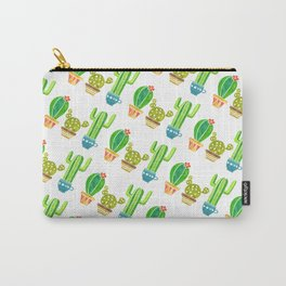 Cactus and pots Carry-All Pouch