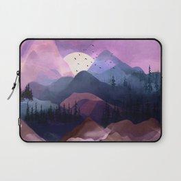 Misty Mountain Morning Laptop Sleeve