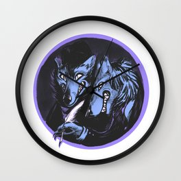 The Big Bad Brothers Grimm Wall Clock