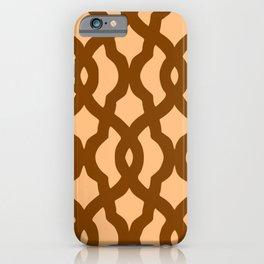 Grille No. 2 -- Orange iPhone Case