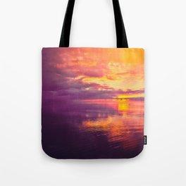 Maldivian sunset 6 Tote Bag