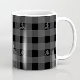 Plaid Leviathan Cross Coffee Mug