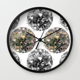 Tea Garden Wall Clock