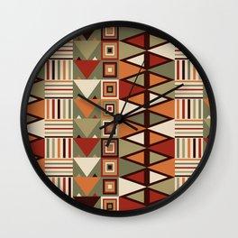 Savanna drums Wall Clock